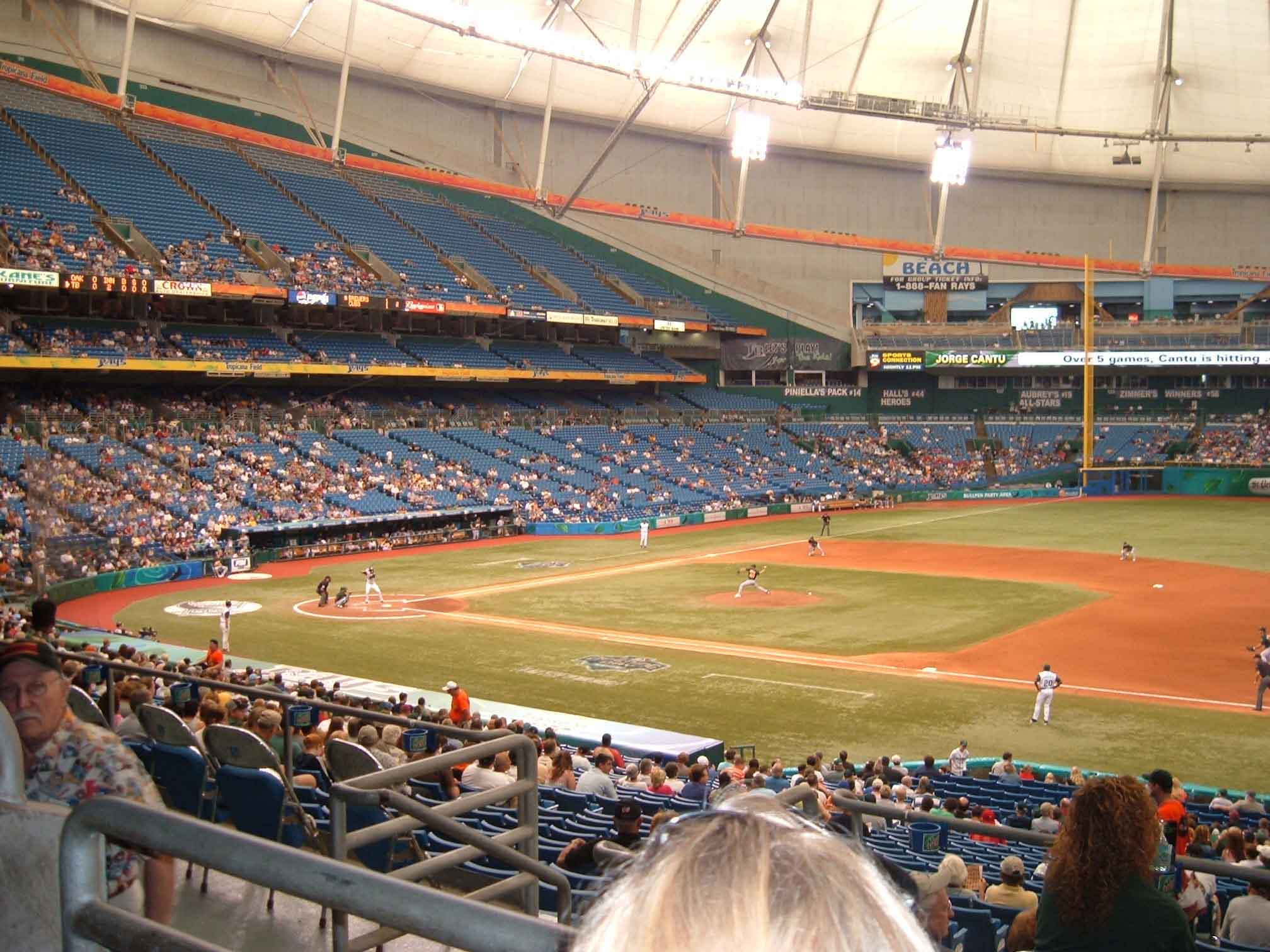 Best Beach Near Tropicana Field